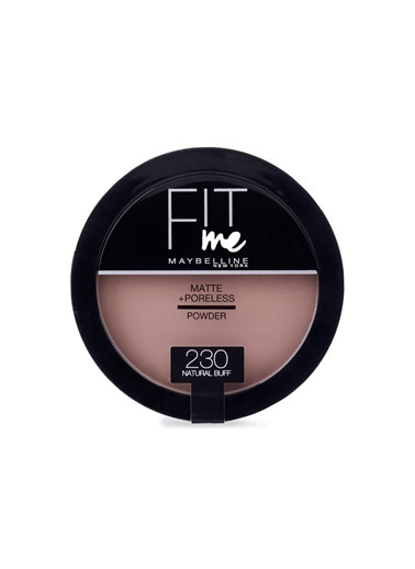 Maybelline Fit Me Matte+Poreless Pudra - 230 Natural Buff Ten